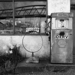 Old Garage Petrol Pump