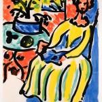 Matisse Marie-José in a Yellow Dress