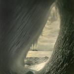 CAVERN IN AN ICEBERG, 1910