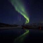 Reykjavik, Iceland, Northern Lights