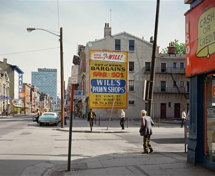 West Fifteenth Street and Vine Street, Cincinnati, Ohio, May 15, 1974.(Shore, S. 1974)