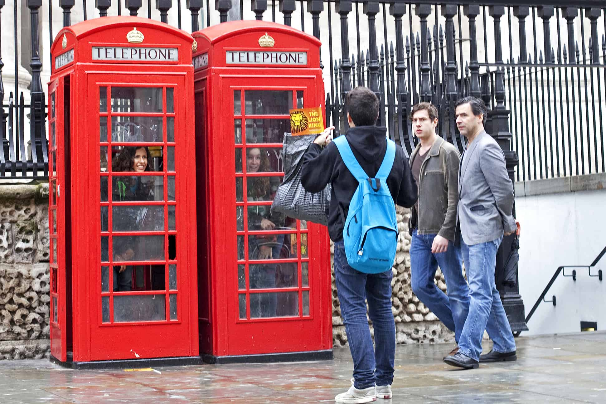 Red Telephone Box Photoshoot