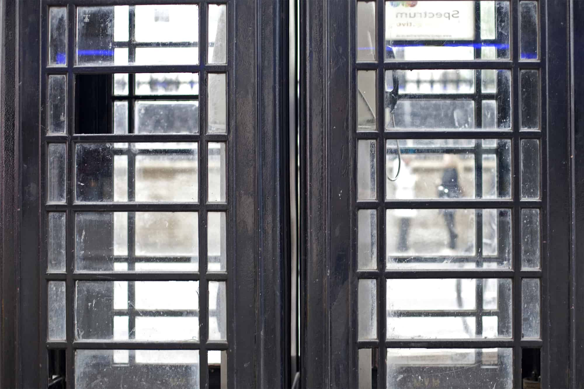 London - Black Telephone Boxes