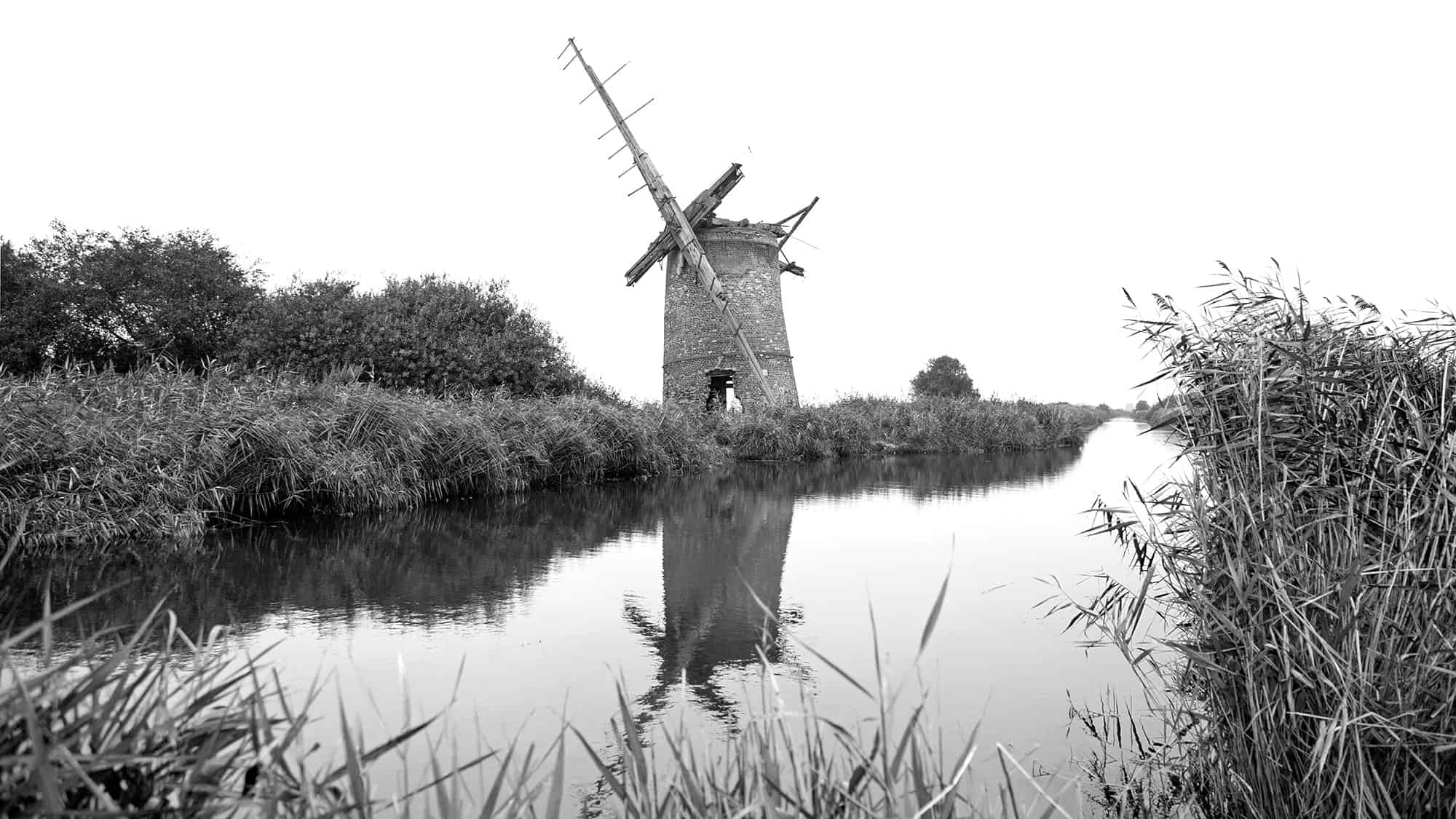 Brograve Mill - Abandoned since the 1930's.