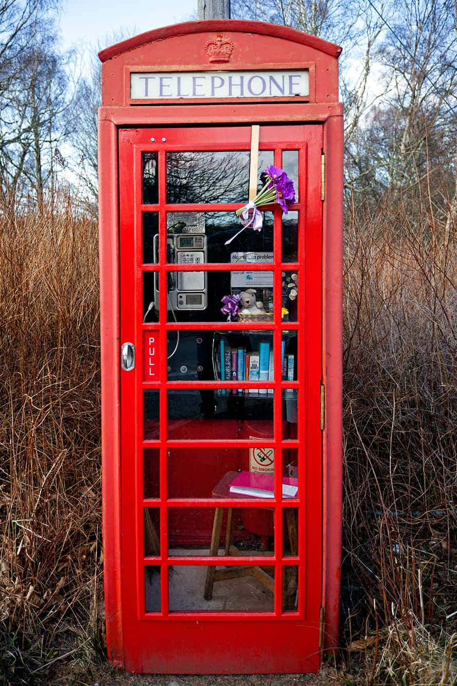 Save our telphone box