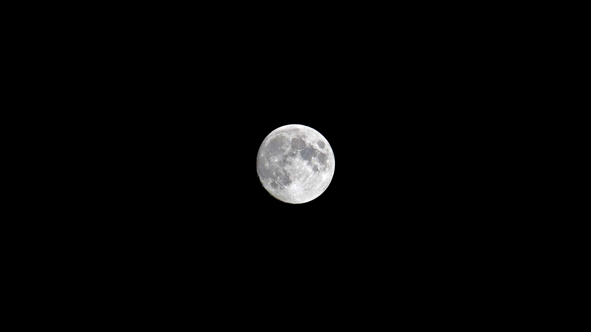Moon - Waxing Gibbous