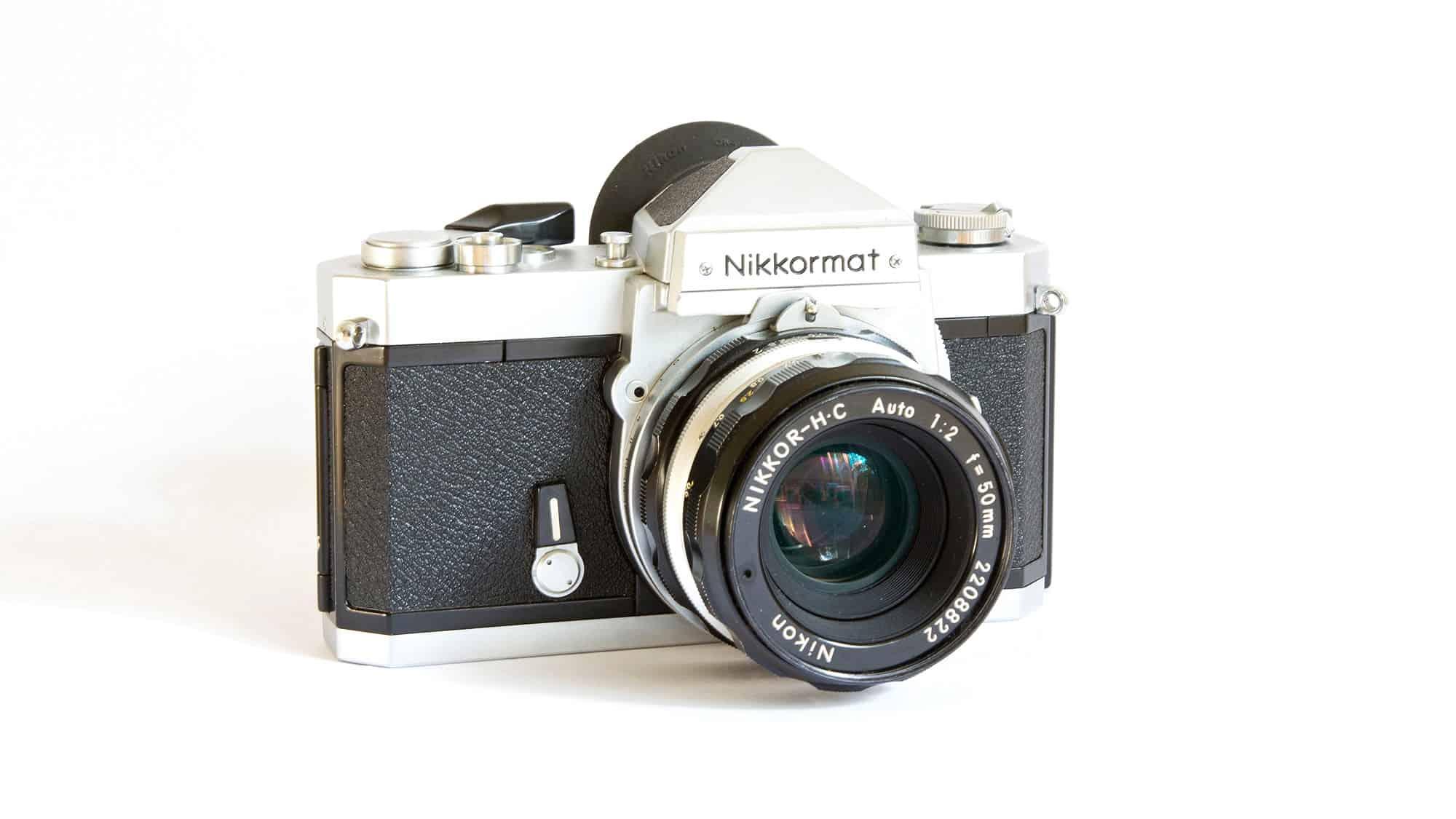 Nikkormat FTN SLR 35mm camera