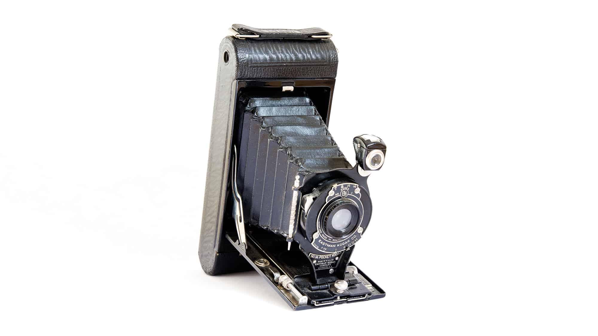 Kodak 1a pocket folding camera.